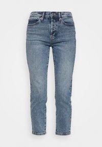 ONLY - ONLJOSIE LIFE RISE SLIM  - Slim fit jeans - medium blue - 4