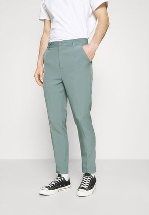 AFTERMATH TAPERED SUIT TROUSER - Trousers - light blue