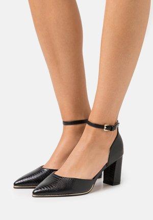 WIDE FIT EVOKE - Tacones - black