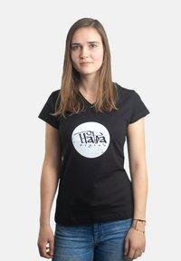 Platea - Print T-shirt - schwarz - 0