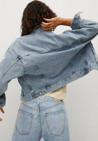 Mango - Denim jacket - bleu moyen - 2