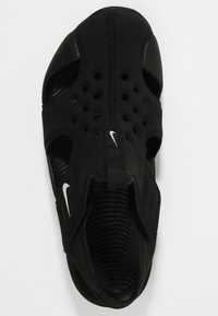 Nike Performance - SUNRAY PROTECT 2 UNISEX - Sandály do bazénu - black/white - 1
