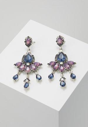 ONLEA EARRING - Earrings - silver-coloured/purple/blue