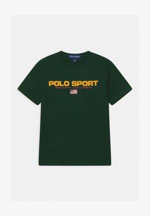 Print T-shirt - college green
