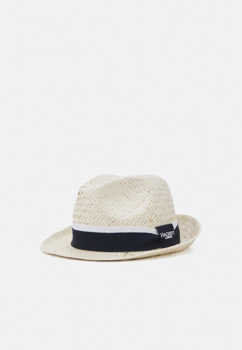 Hackett London - FLATWEAVE - Hat - off white