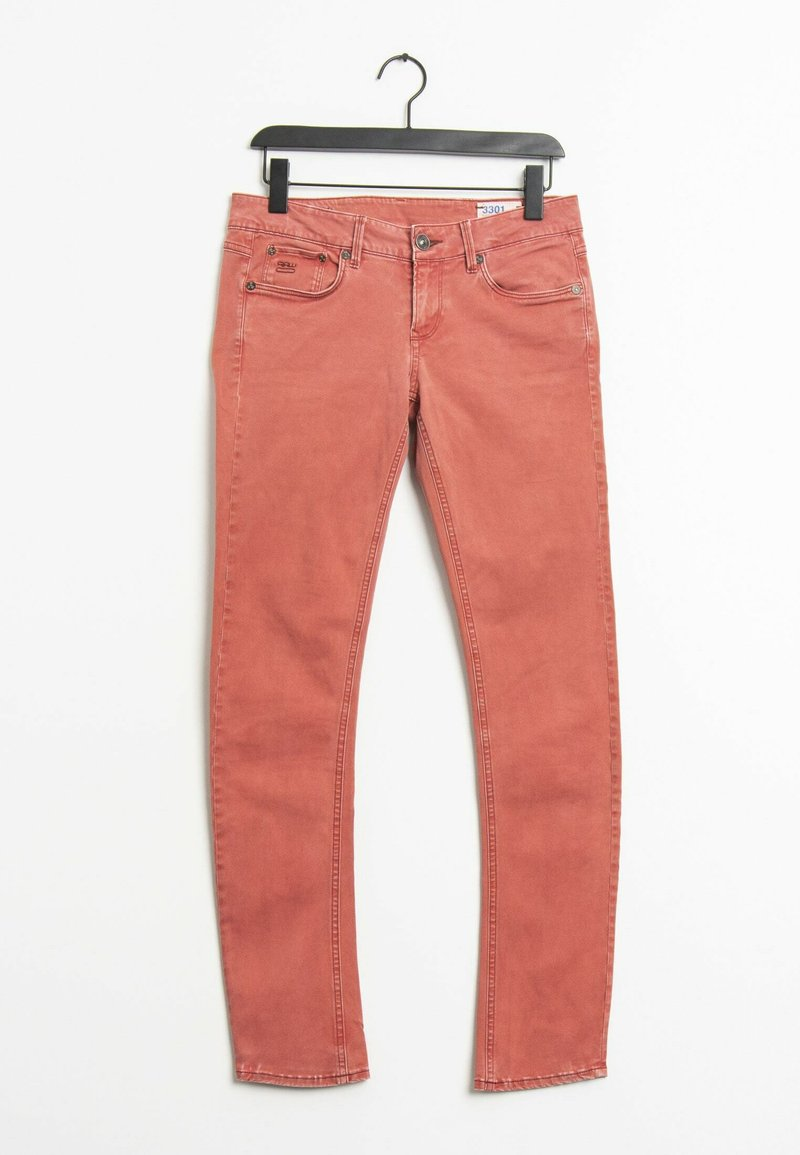 G-Star - Jeansy Straight Leg - orange