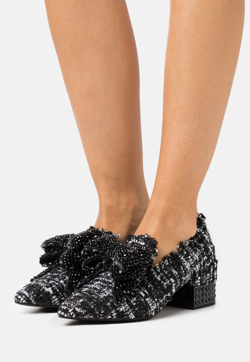 Jeffrey Campbell - VALENSIA - Classic heels - black/silver