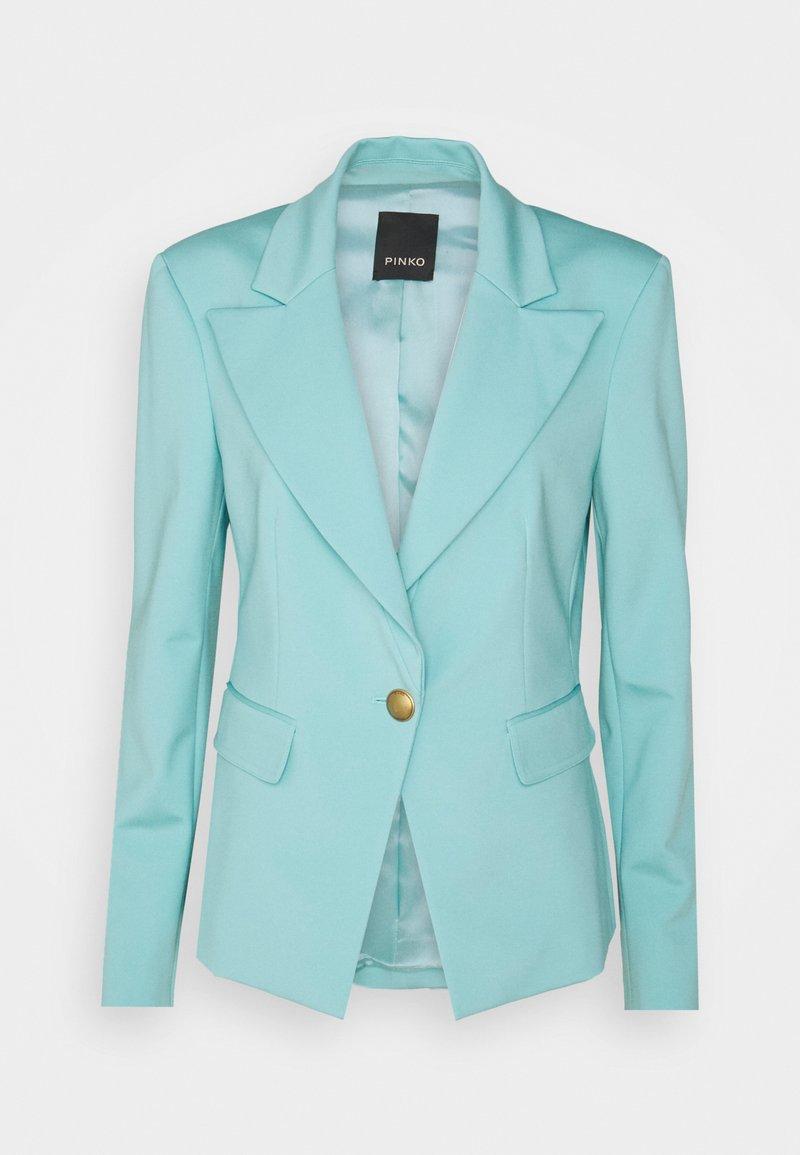 Pinko - GOMBERTO GIACCA  - Blazer - turquoise