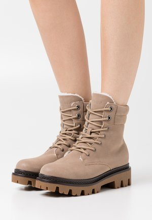 VMSIA BOOT - Lace-up ankle boots - sepia tint