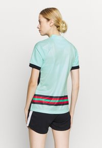 Nike Performance - PORTUGAL STAD - Print T-shirt - teal tint/black - 2