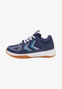 Hummel - REACH LX JR UNISEX - Handball shoes - peacoat - 0
