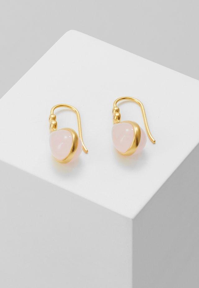 POETRY EARRINGS - Earrings - gold-coloured