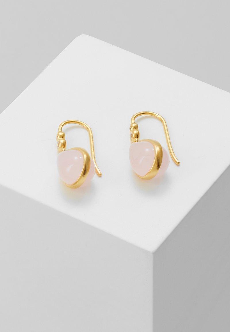 Julie Sandlau - POETRY EARRINGS - Korvakorut - gold-coloured