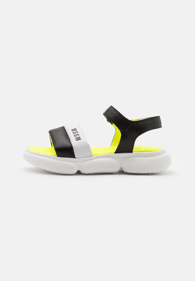 Sandaler - black/white