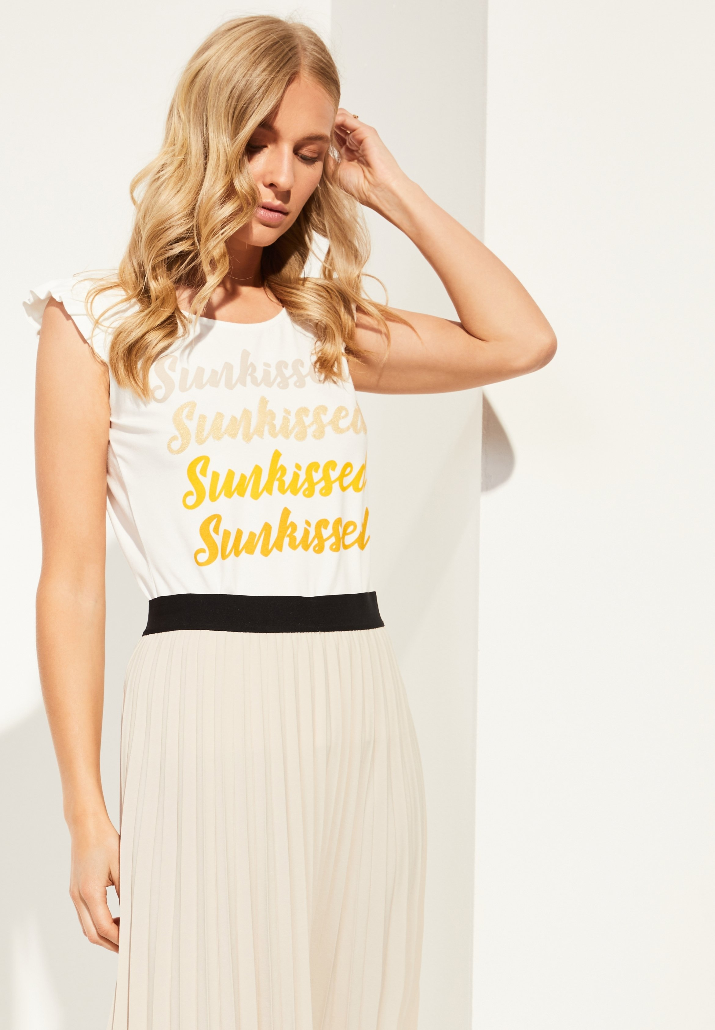 Damen JERSEYSHIRT MIT STATEMENT-PRINT - T-Shirt print