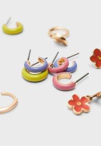 Stradivarius - 6 SET - Earrings - gold - 4