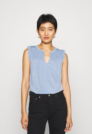 Blouse - blue denim