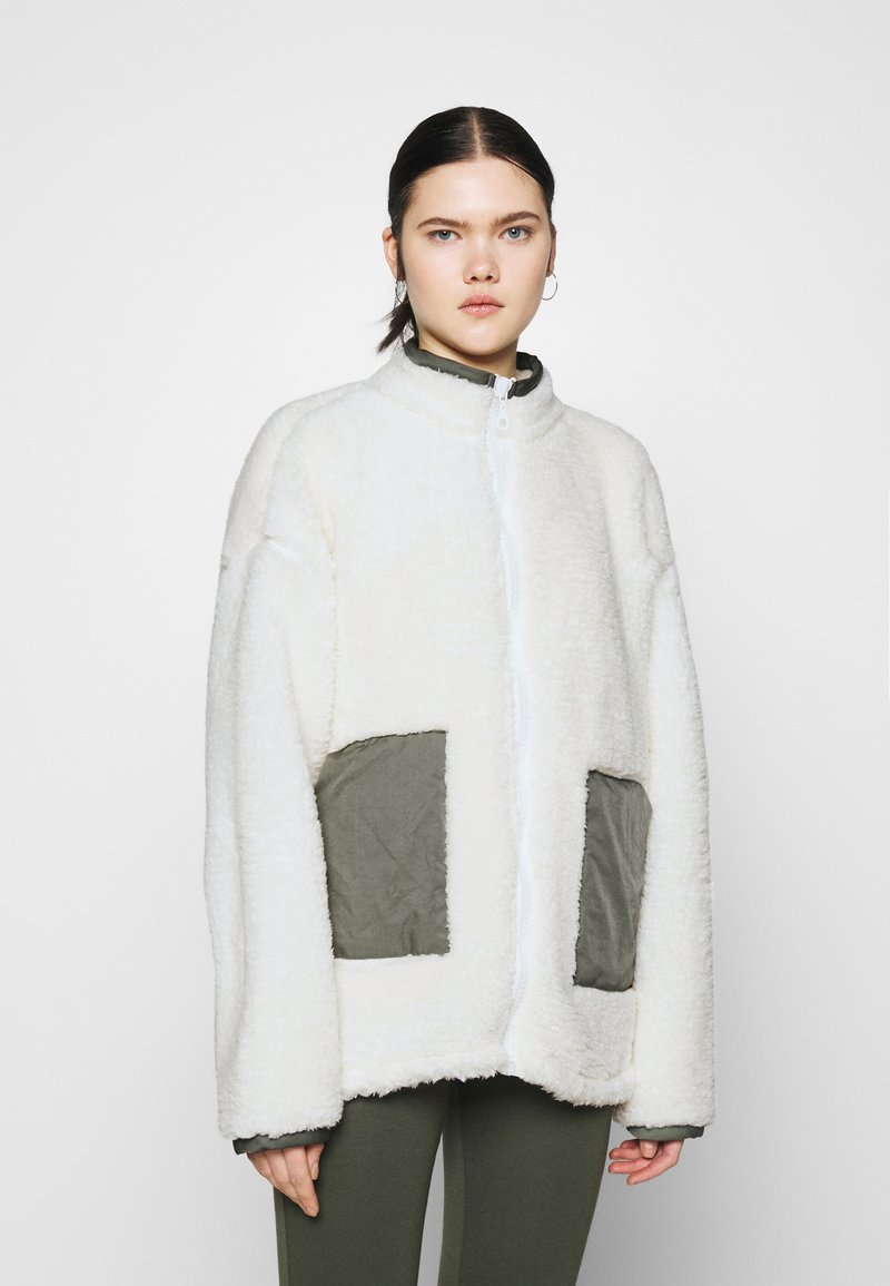 Nly by Nelly - COLORBLOCK JACKET - Winter jacket - creme