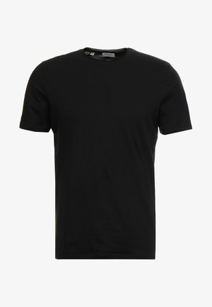 SLHLUKE O-NECK TEE - T-shirt basic - black