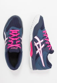 ASICS - GEL ROCKET 9 - Volleyball shoes - peacoat/white - 1