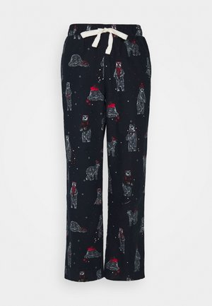 DEAL BEAR PANT - Pyjama bottoms - navy mix