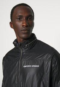 Emporio Armani - BLOUSON JACKET - Summer jacket - nero - 4