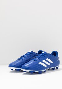 adidas Performance - COPA 20.4 FOOTBALL BOOTS FIRM GROUND - Moulded stud football boots - royal blue/footwear white - 2