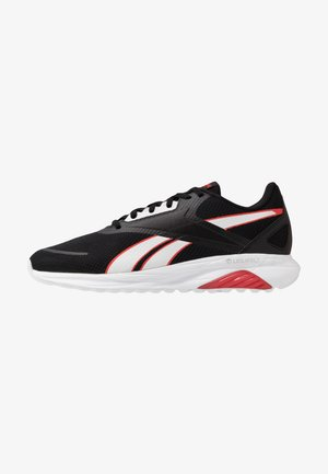 LIQUIFECT 90 - Neutral running shoes - black/white/instinct red