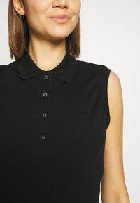 Lacoste - SLEEVELESS BASIC SLIM FIT - Poloshirt - black - 5
