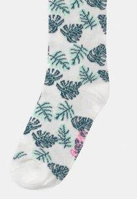 Ewers - LEAVES 4 PACK - Socks - off-white/pink - 2