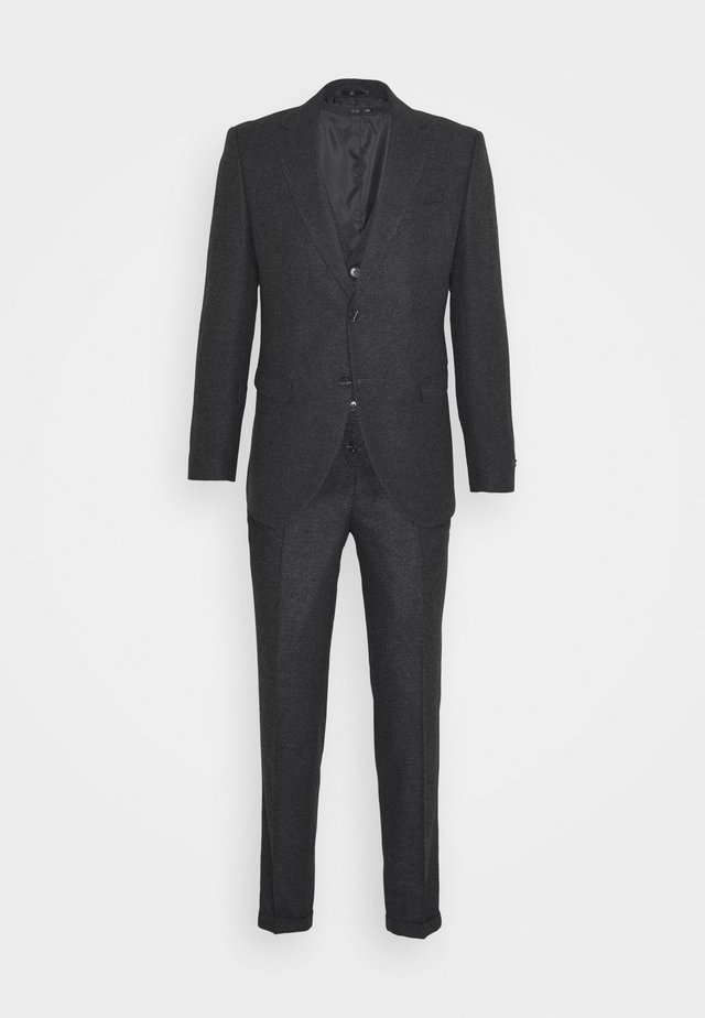 JPRBLATARALLO 3 PIECE SUIT - Kostym - dark grey