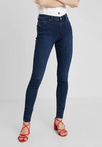 Esprit - Jeans Skinny Fit - blue dark wash - 0