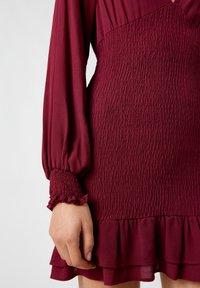 PULL&BEAR - Day dress - bordeaux - 4