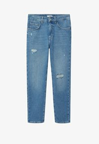 Mango - DANNY - Straight leg jeans - bleu moyen - 0