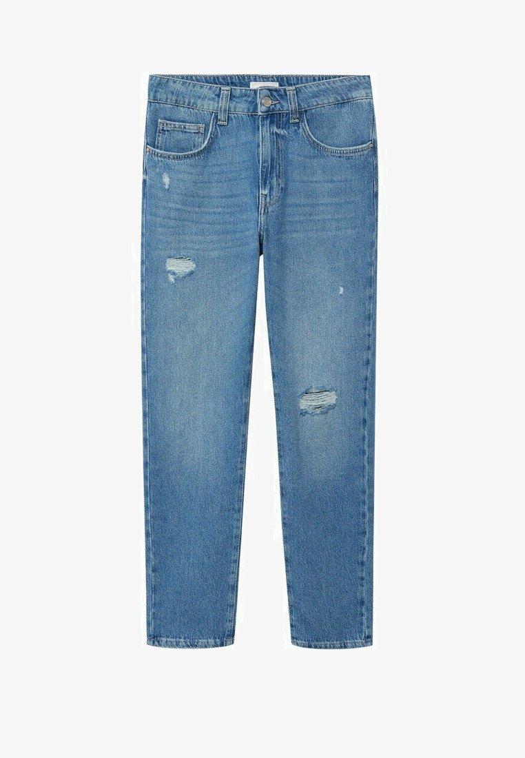 Mango - DANNY - Straight leg jeans - bleu moyen