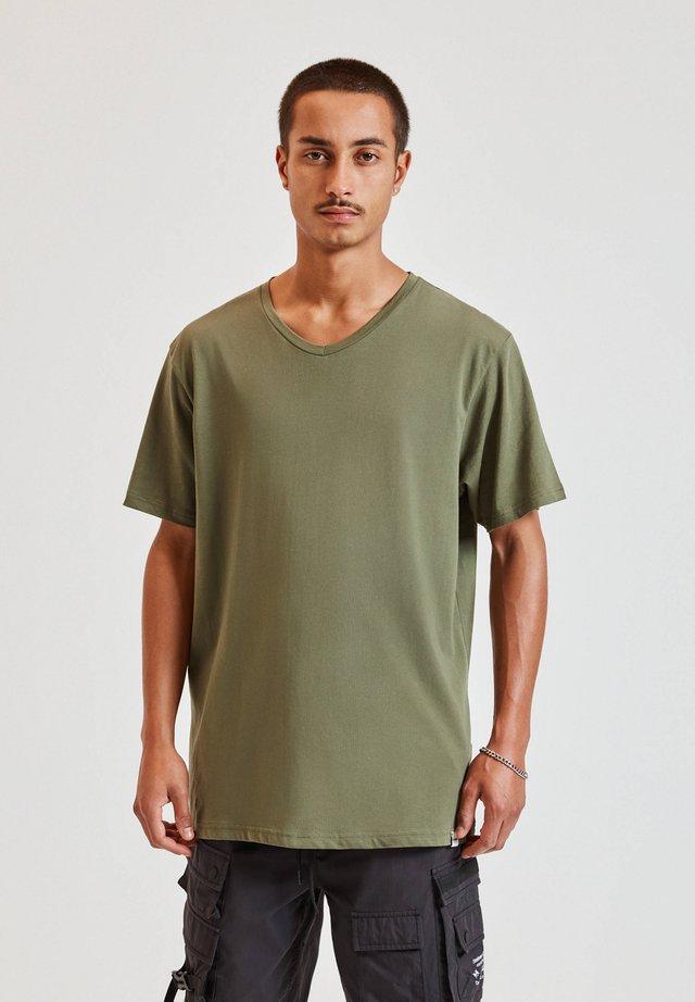 T-shirt basic - dark green