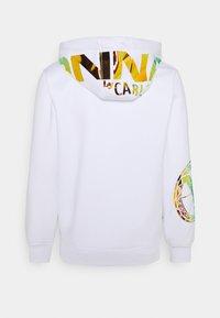 Carlo Colucci - UNISEX - Zip-up sweatshirt - white reflectiv - 7