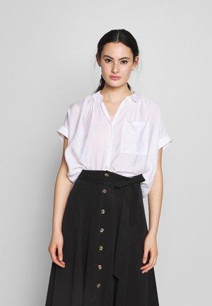 NICOLA BUTTON THROUGH - Button-down blouse - white