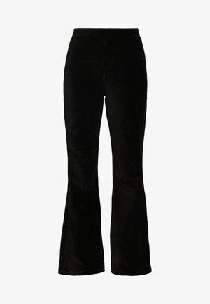 ERIKA TROUSERS - Trousers - black