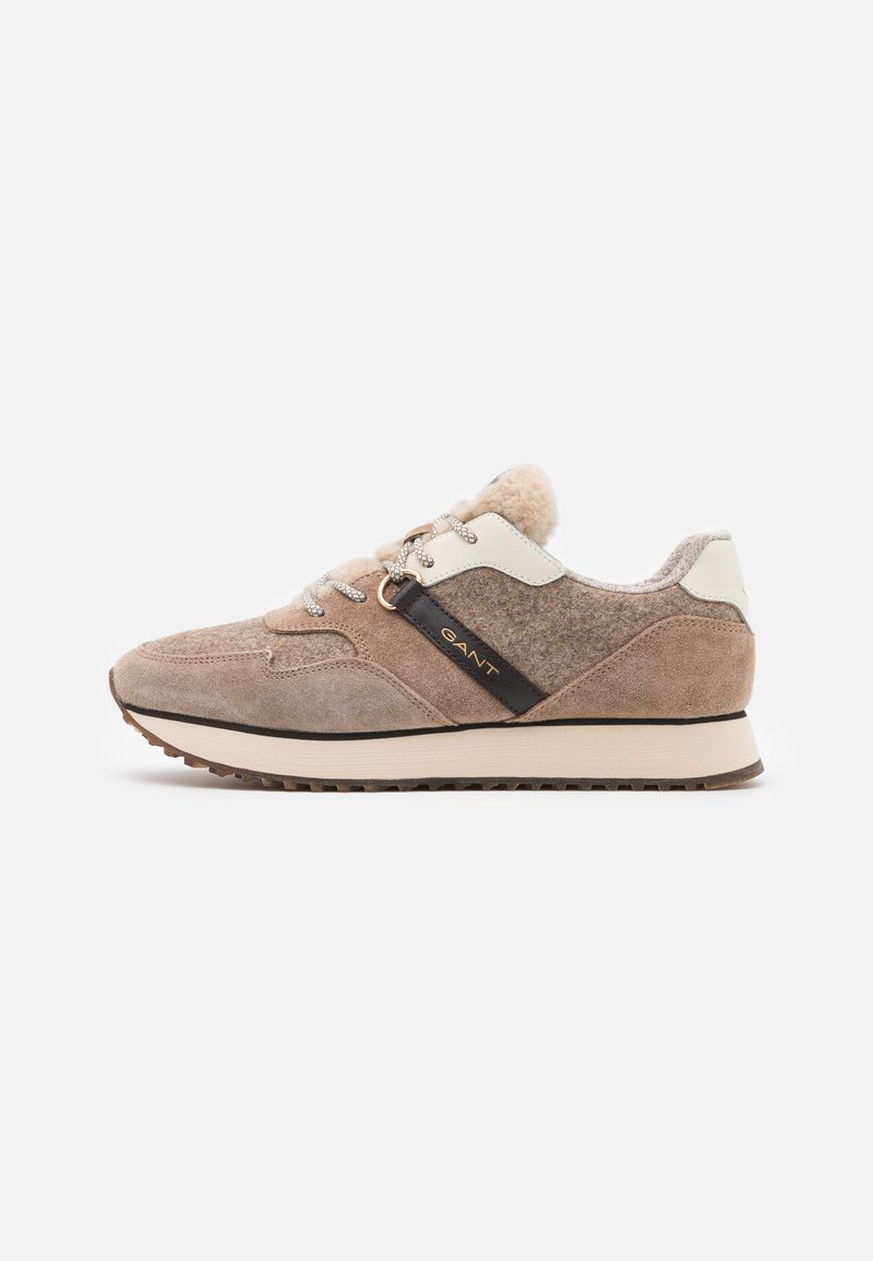 GANT - BEVINDA RUNNING - Trainers - mud brown