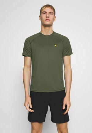 CORE RAGLAN - T-shirt - bas - teal green