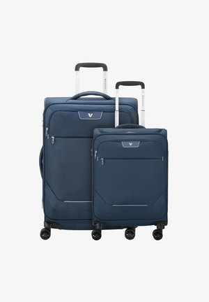 SET - Wheeled suitcase - blu notte