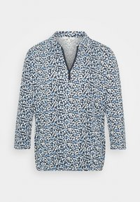 TOM TAILOR - BLOUSE WITH COLLAR - Blouse - navy blue - 3