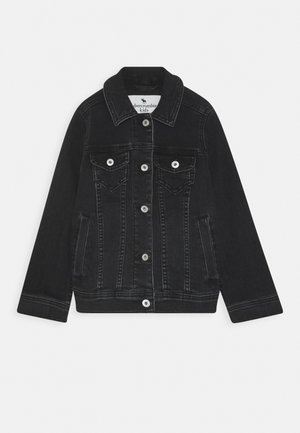 JACKET - Jeansjacke - black denim