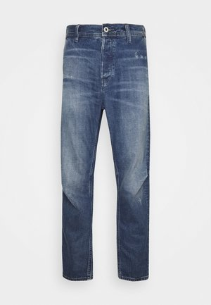 GRIP - Straight leg jeans - faded hague blue destroyed