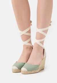 Office - MARMALADE - High heeled sandals - green - 0