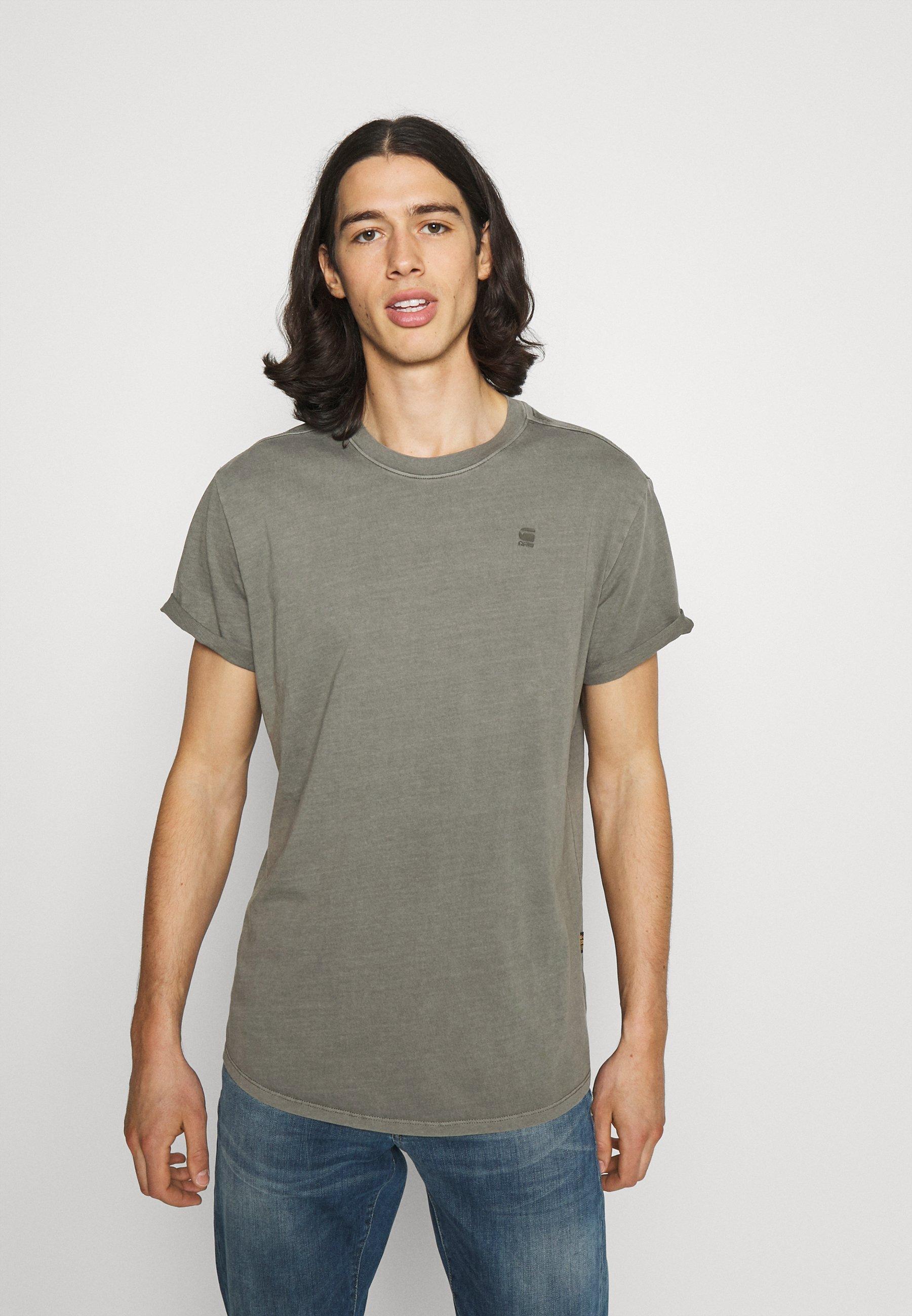 Men LASH  - Basic T-shirt - GREY