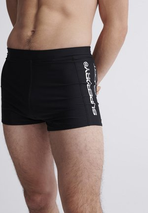 SUPERDRY SWIMSPORT MIDI SHORTS - Bañador - black