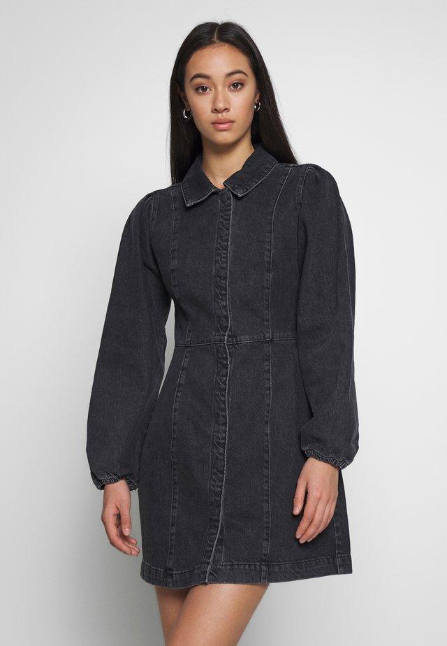 MIA MINI - Robe en jean - black