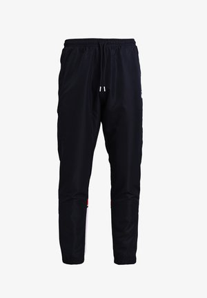 ALMOND  - Tracksuit bottoms - night sky/ tango red